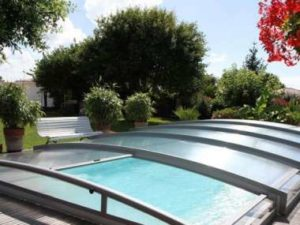 sécuriser piscine abri